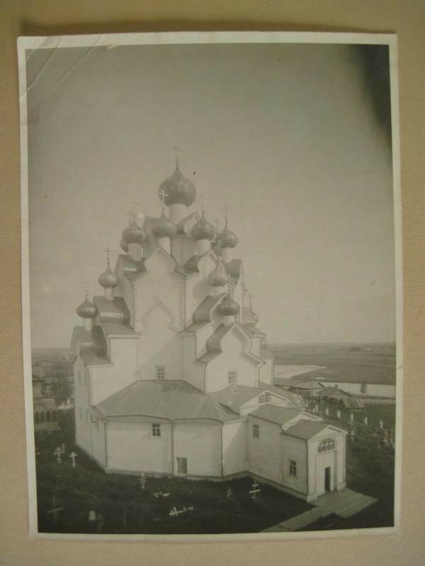 1926 Покровская церковь. Вытегорский погост. 1708 г..jpg