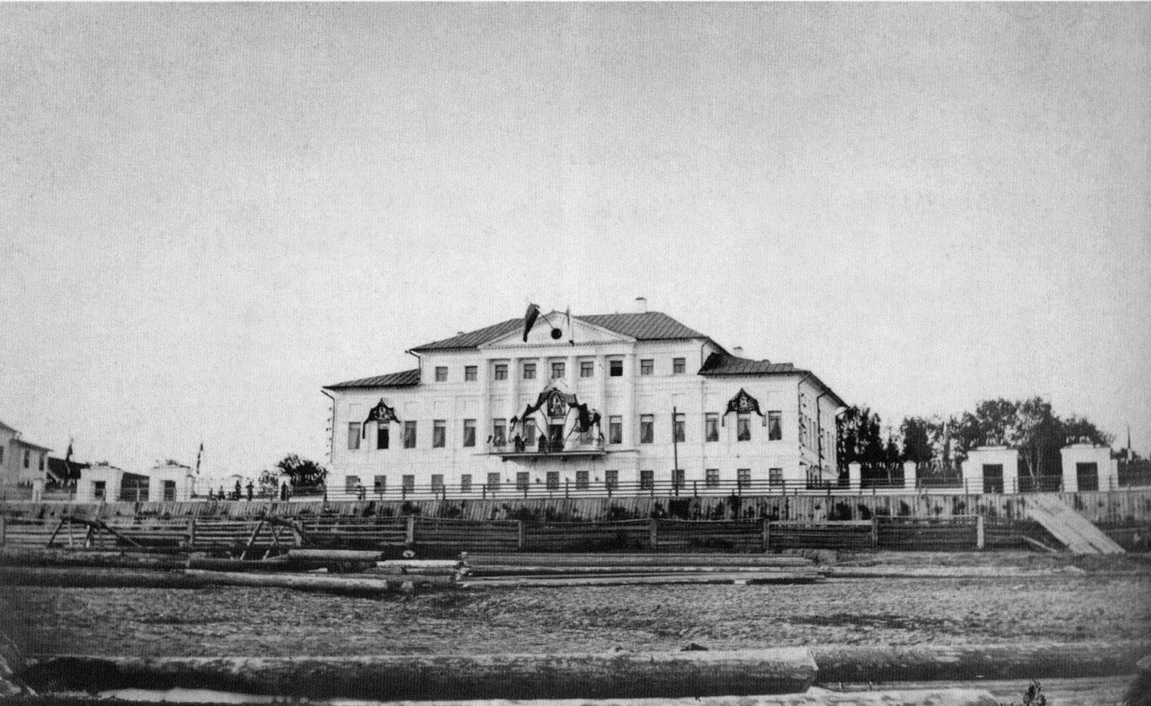 Дом В.И. Грибанова (бывший дом М.М. Булдакова). 9 июня 1885