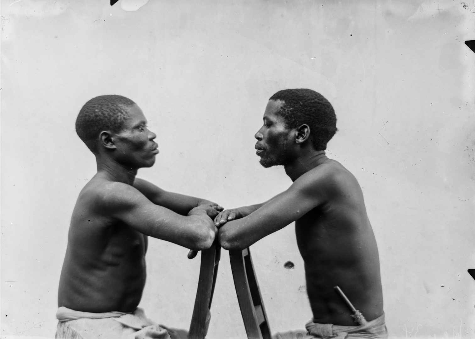 92. Антропометрическое изображение мужчин маконде и яо