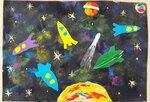 Головских Анна (рук. Сапрыкина Екатерина Михайловна) - Ракеты в космосе