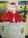 Полина Корчагина (рук. Тесленко Татьяна Александровна) - Дед Мороз спешит на праздник