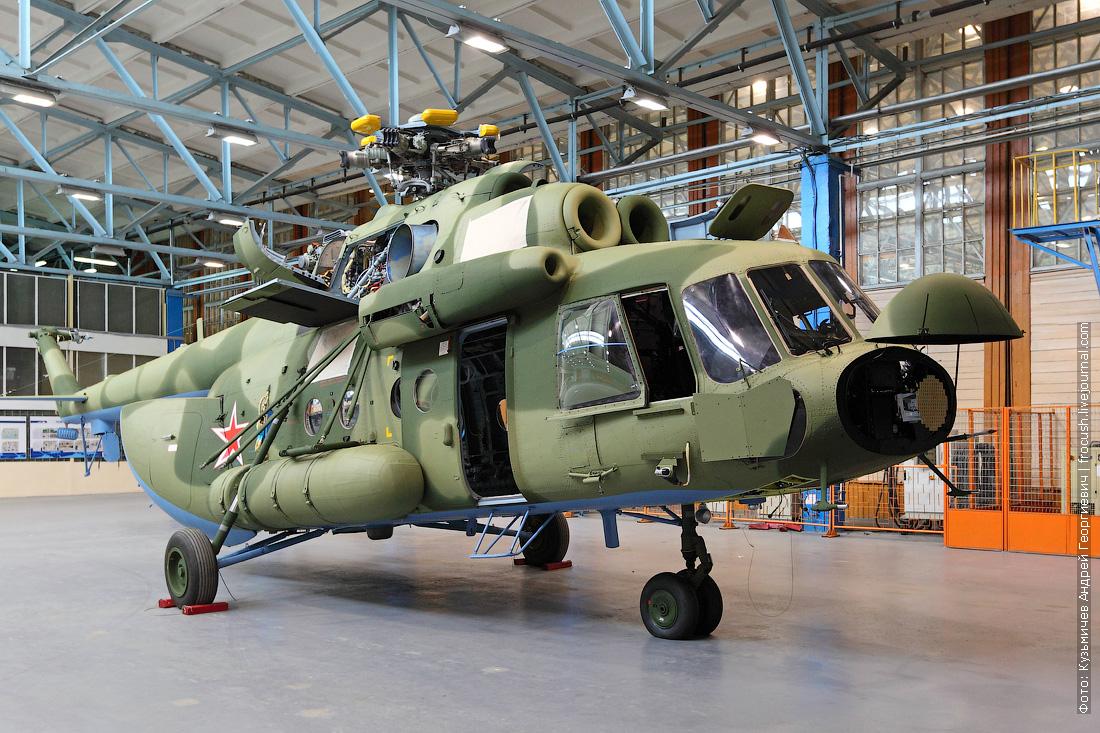 как делают Ми-17