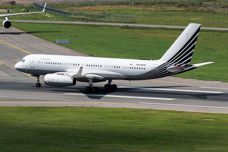 Туполев Ту-204-300А (RA-64010) Business Aero D805397