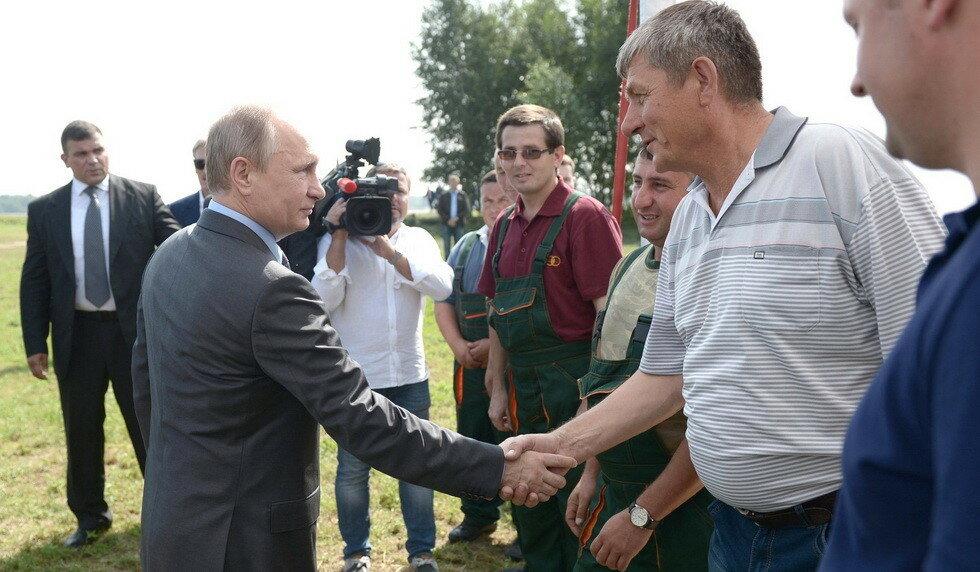 Владимир Путин, Тверская область
