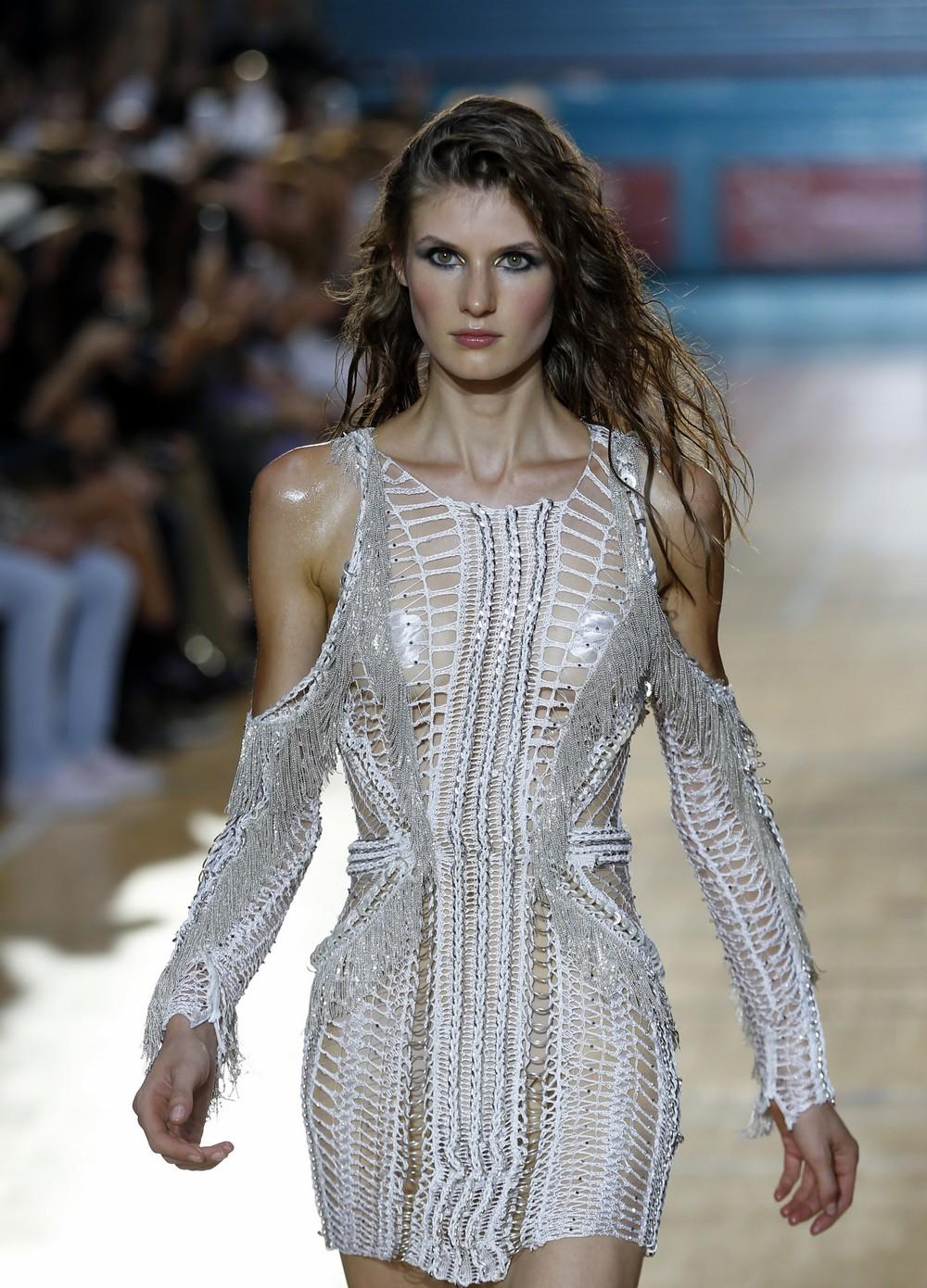Britain Fashion Week Julien Macdonald