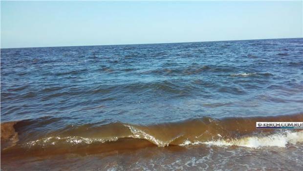 Народ смеется - Путин помочился, он же Х*йло: В Крыму внезапно пожелтело море (фото)