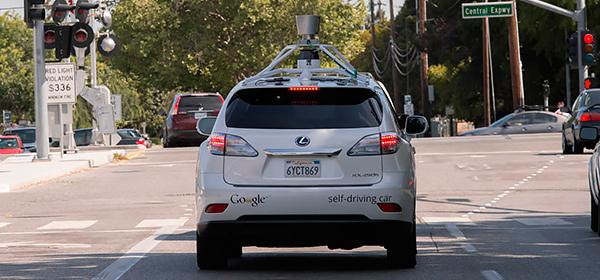 Автопилот Google может сигналить пешеходам