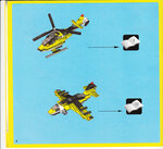 Вертолёт и самолёт из Lego