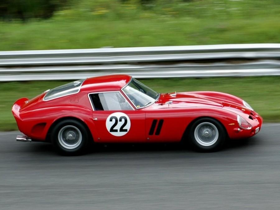 19. «Ferrari 250 GTO»: годы выпуска с 1962 по 1964 «Ferrari 250 GTO» является одним из самых востреб