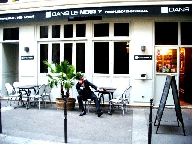 24. Dans le Noir? Париж Парижский ресторан Dans le Noir стоит посетить лишь в том случае, если вы не