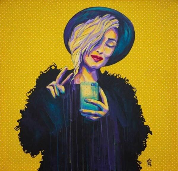 Обычная жизнь в картинах Марины Звидриной