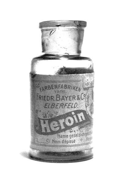 16. Медицинский героин, который продавала компания Bayer в 1890-х. 17. Болеутоляющие таблетки с кока