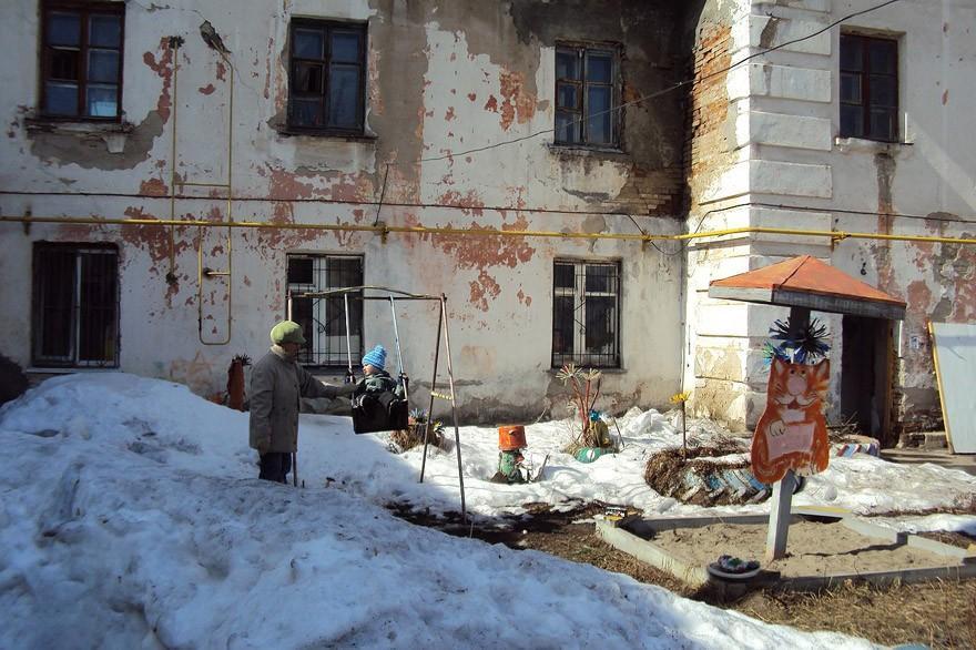 9. Все радости русской весны в одном фото.