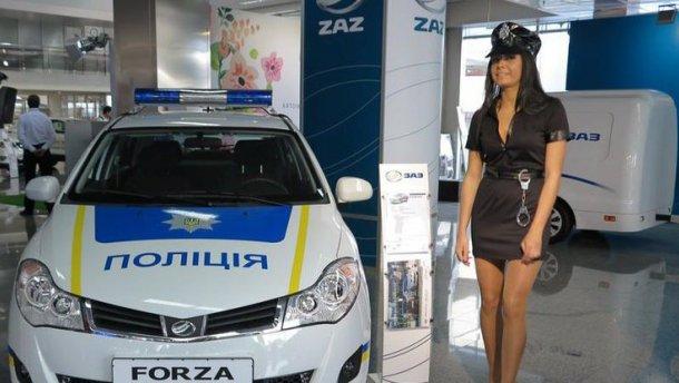 Запорожский автомобильный завод выпустил 18 авто для Нацполиции