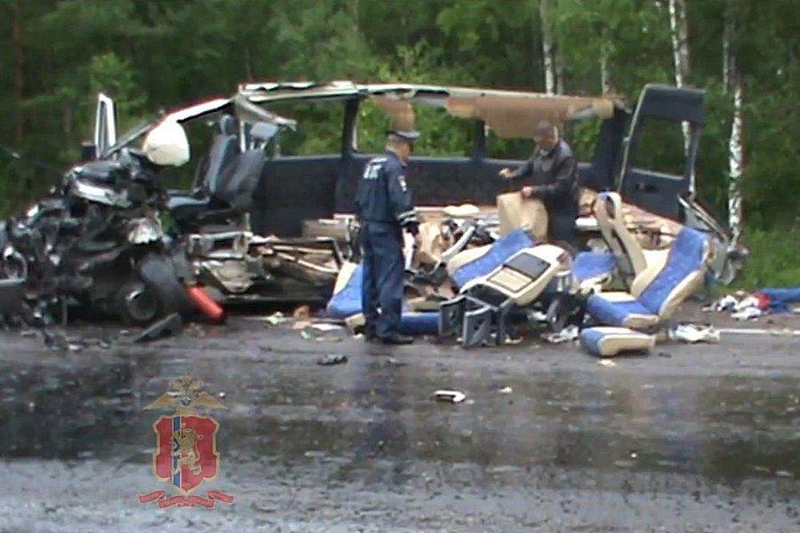 Обвинение просит шесть лет для участника ДТП с11 жертвами под Красноярском