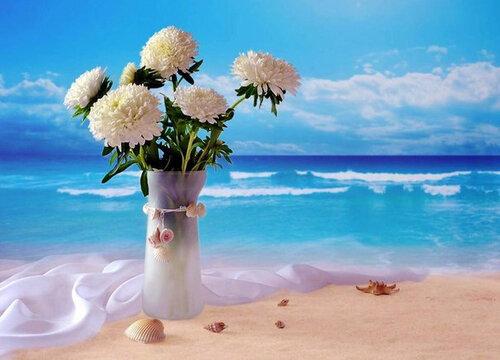 Море цветов в день рождения