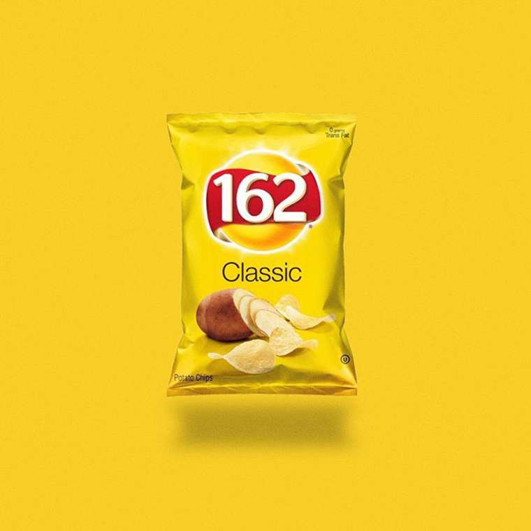 Junk Food - Replacing logos of famous brands by the amount of calories