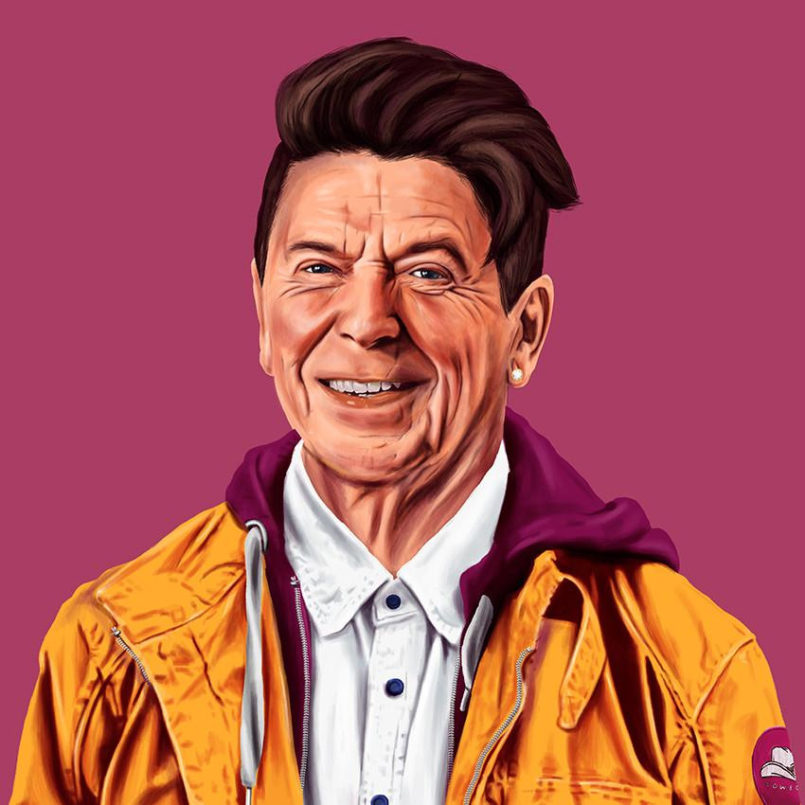 Hipstory: New Portraits of World Leaders by Amit Shimoni