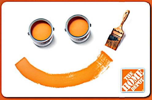 home depot - логотип