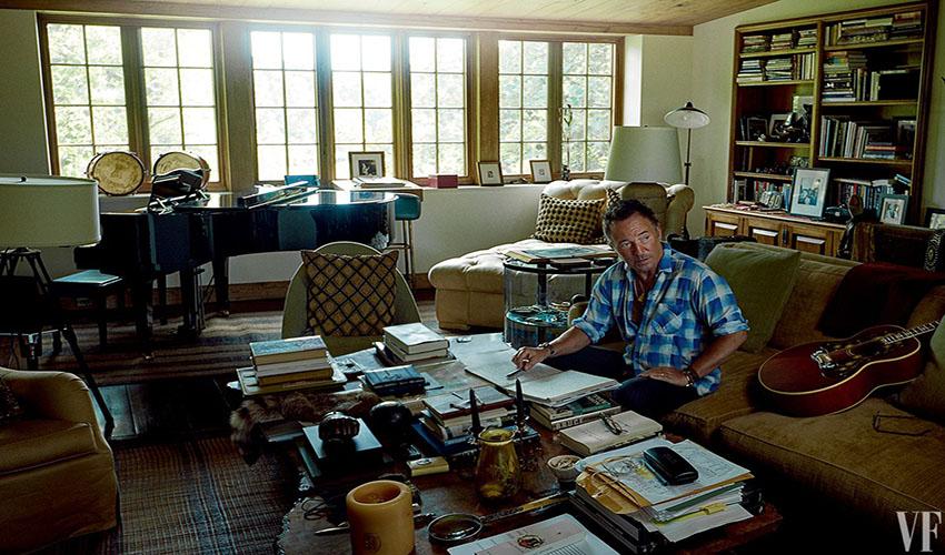 Bruce Springsteen - Vanity Fair US (October 2016)