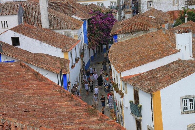 Португалия, Обидуш (Portugal, Obidos)