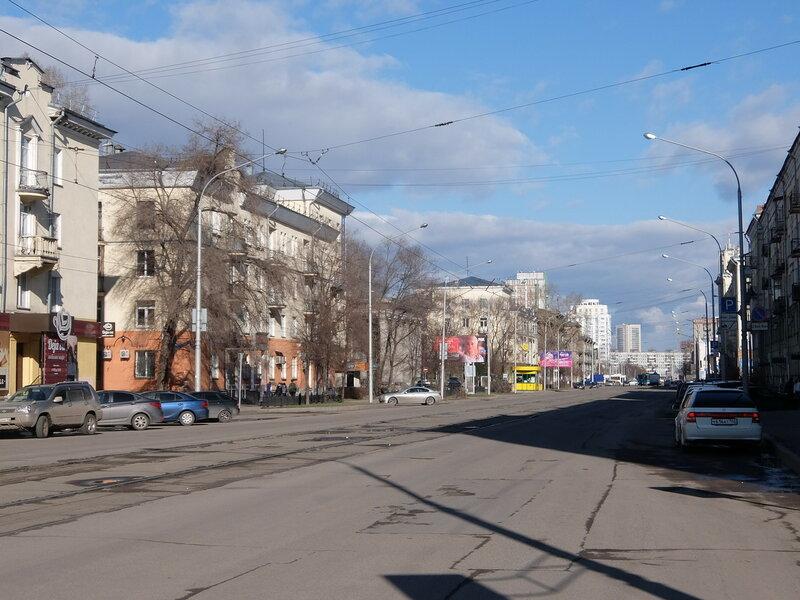 г Новокузнецк. Улица Орджоникидзе