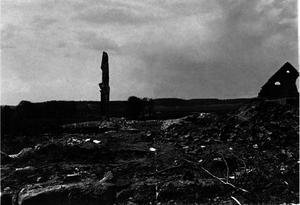 139. 1916. Сожжённая деревня в окрестностях Ковеля.Осень. Ковельский уезд Волынской губернии