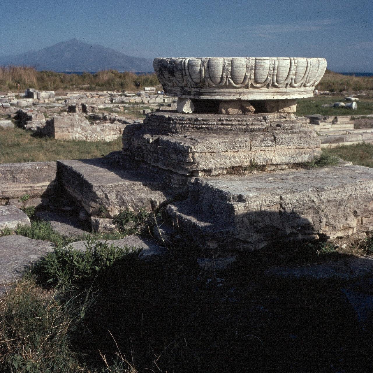 Самос. Герайон. Храм Ройка. 1964