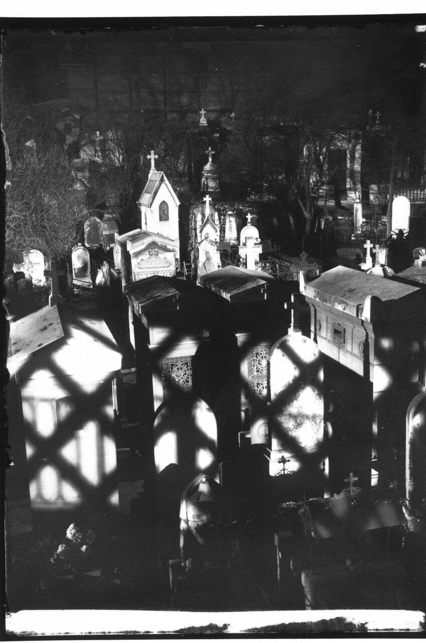 1931. Монмартр. Кладбище