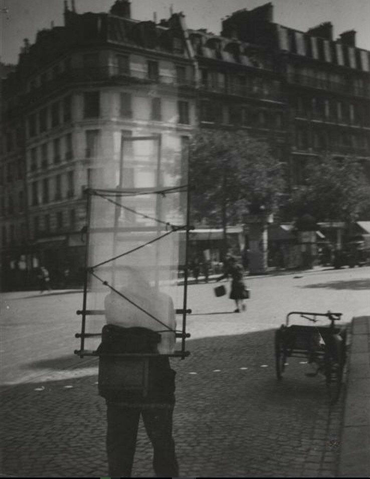 1931. Стекольщик