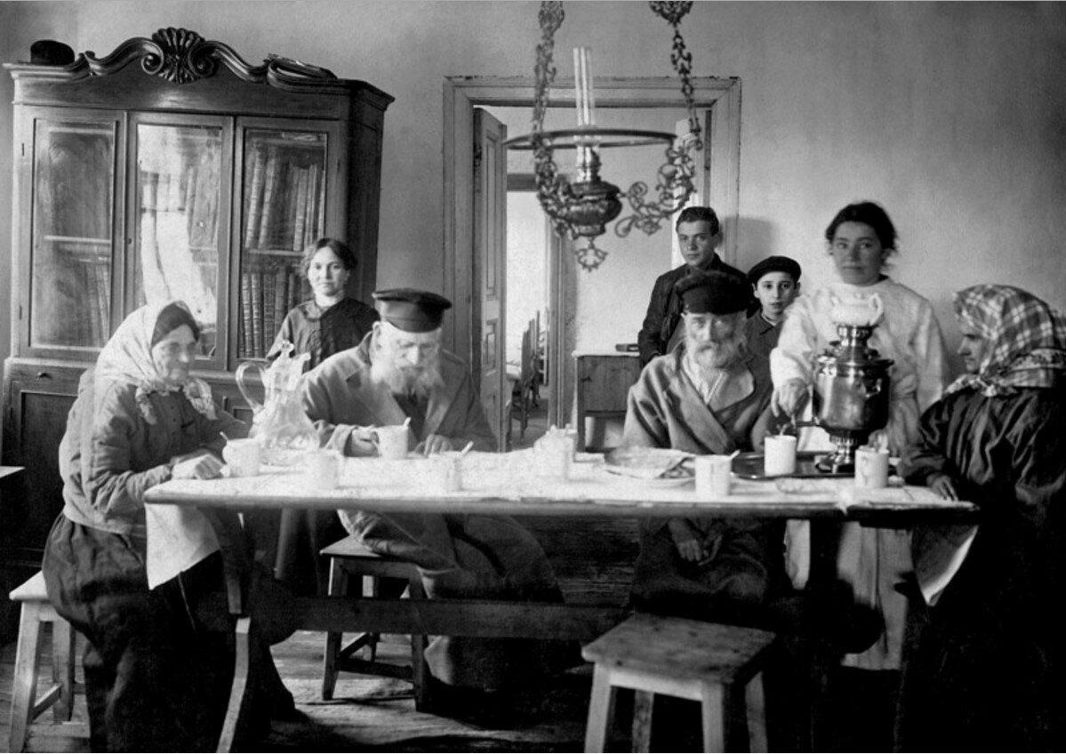 1910-е. Еврейская семья. Подолье