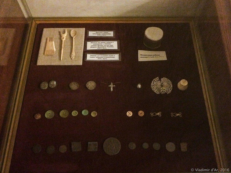 Артефакты из захоронений