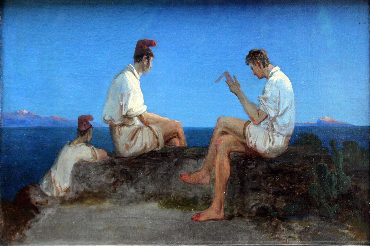1833_Blechen_Drei_Fischer_am_Golf_von_Neapel_anagoria.JPG