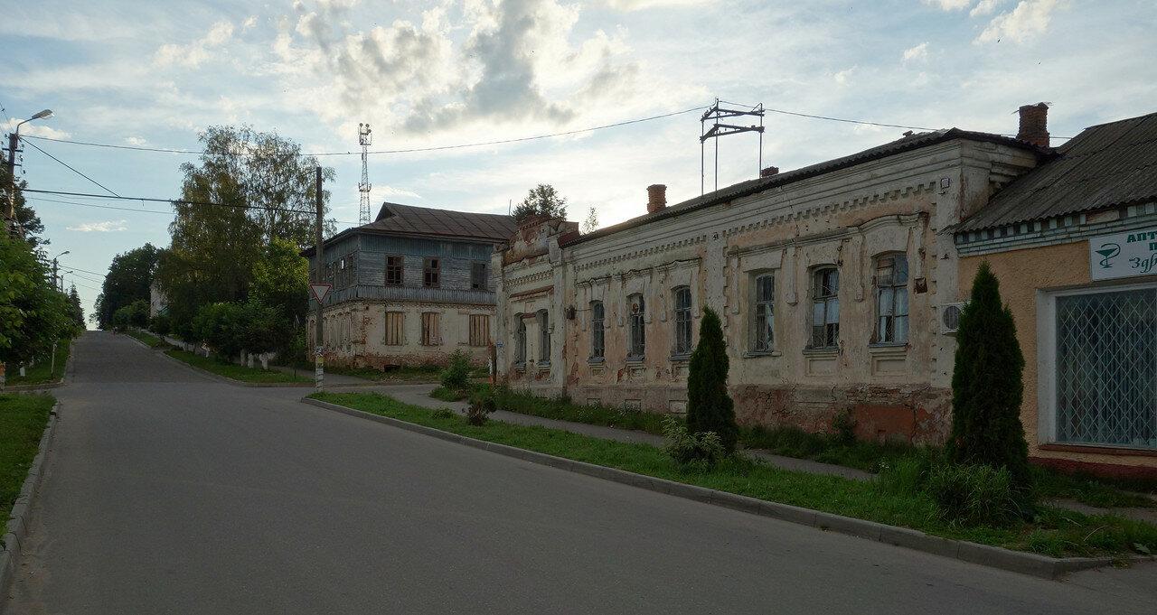 старые дома на Советской улице