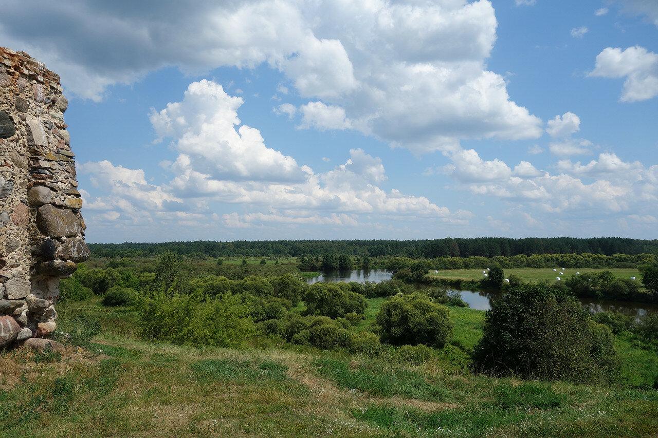 слияние рек Свислочь и Березина