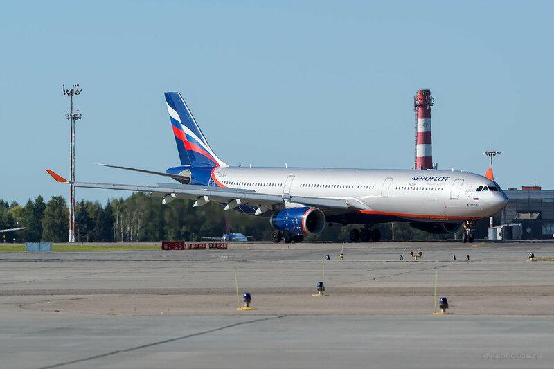 Airbus A330-343 (VQ-BQY) Аэрофлот D800756