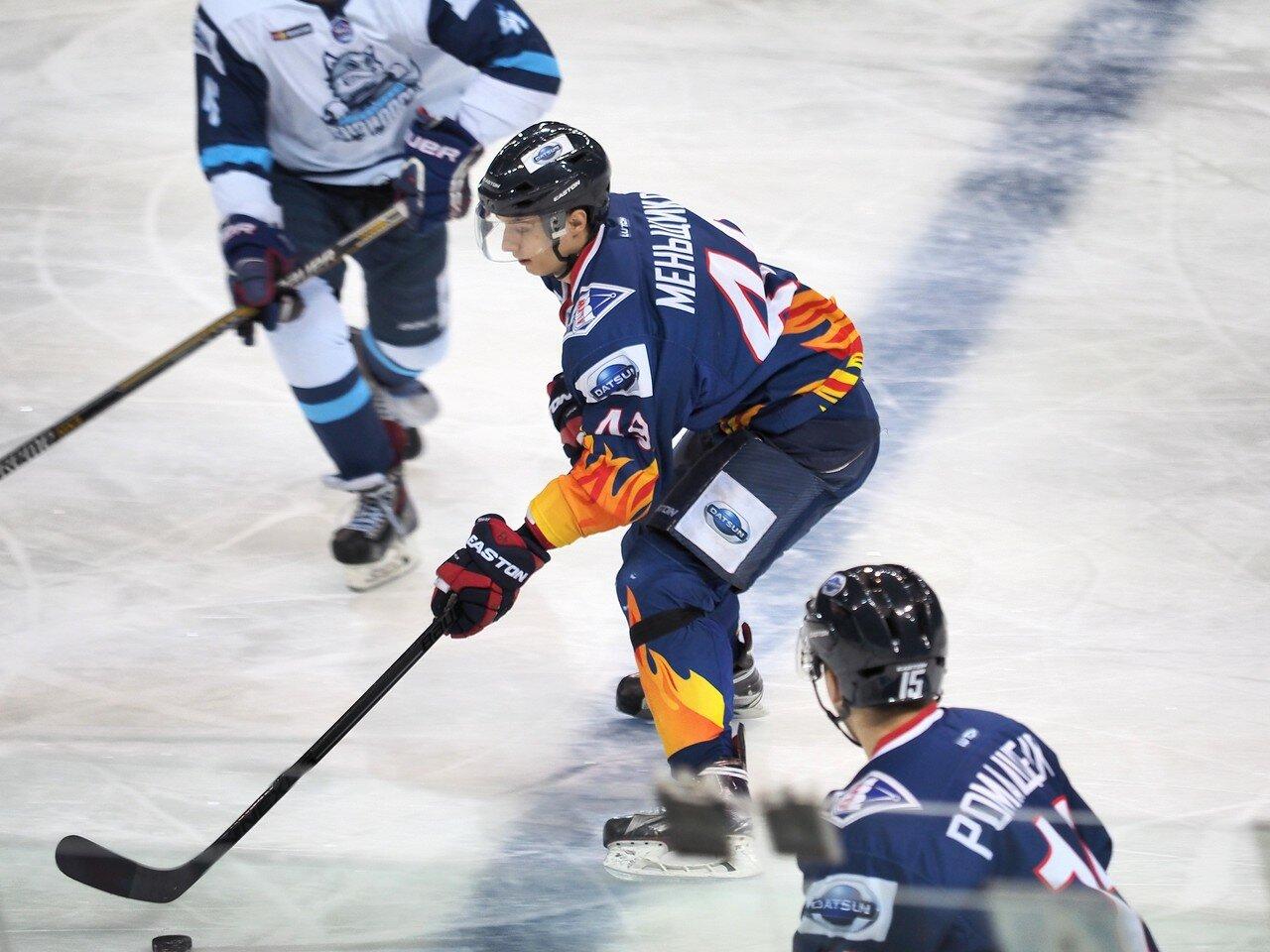 5Плей-офф МХЛ 2016 1/4 Стальные Лисы - Сибирские Снайперы 21.03.2016