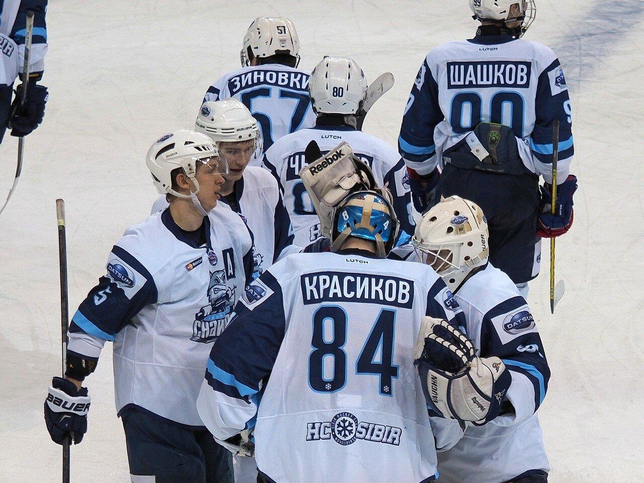 76Плей-офф МХЛ 2016 1/4 Стальные Лисы - Сибирские Снайперы 21.03.2016