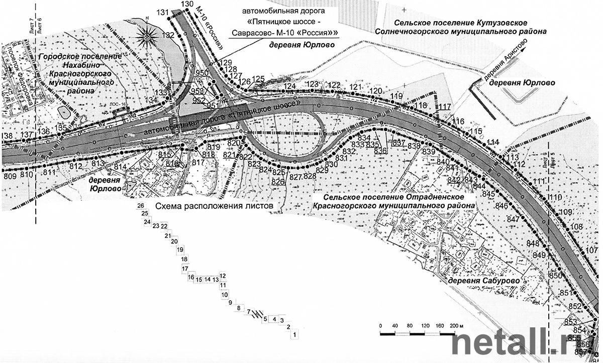 новая ленинградка схема