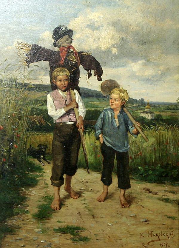 Картинки крестьянские дети, картинки когда устал