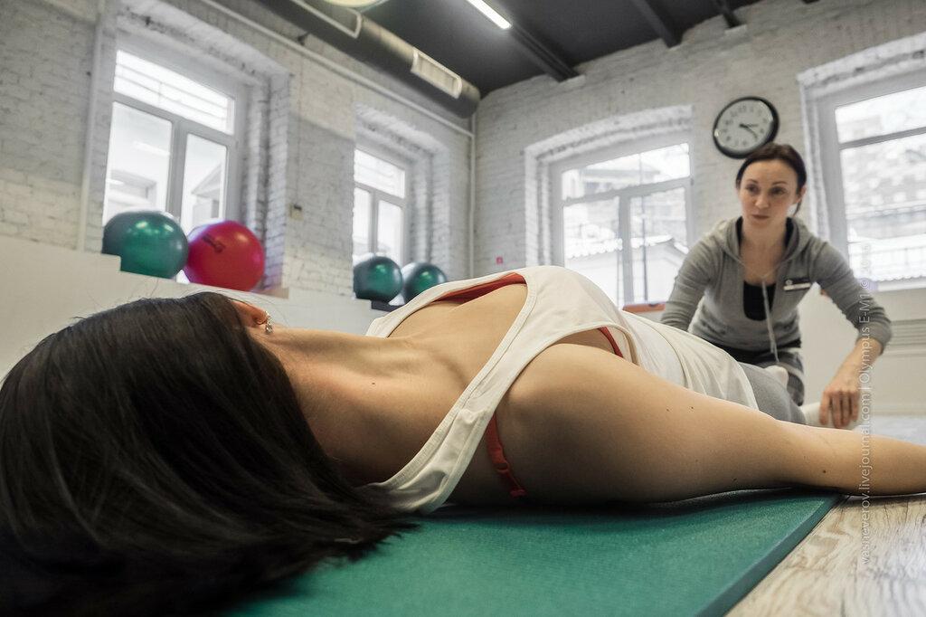 Воздействие на шею через точки ступней