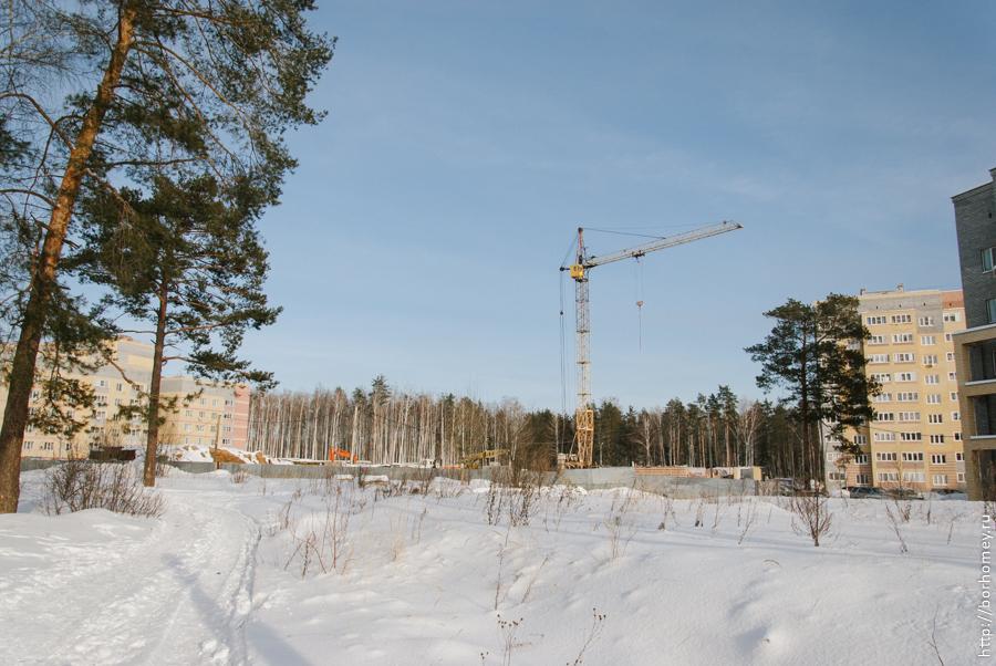 строительство жилого социалного дома