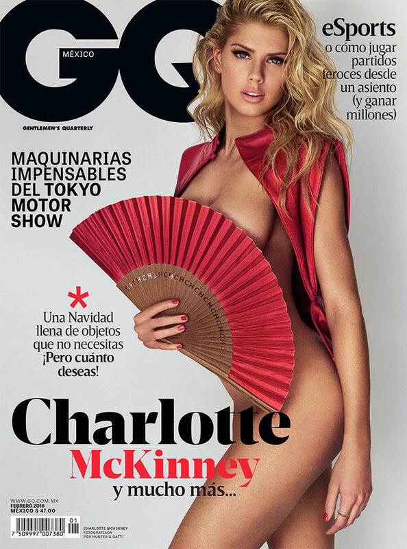 Charlotte McKinney for GQ Mexico february 2016