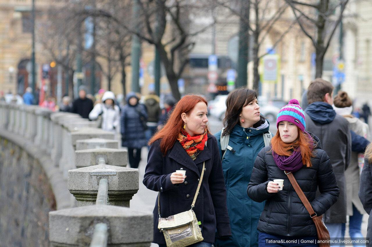 Люди Праги