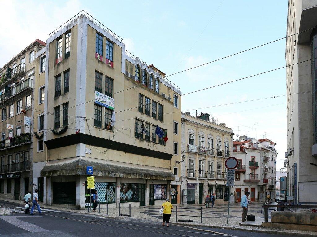 Lisbon. Martim Moniz square