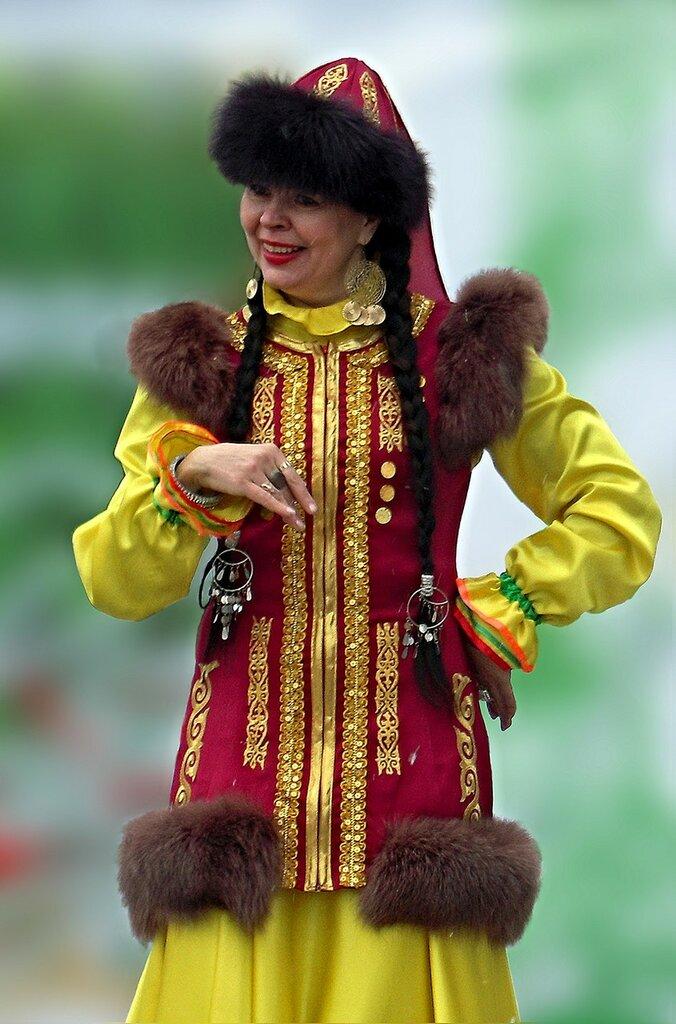 Солистка башкирского ансамбля