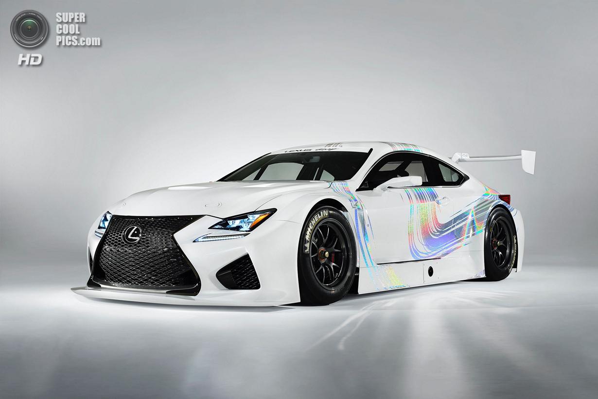 Lexus показала гоночный прототип RC F GT3 (13 фото)