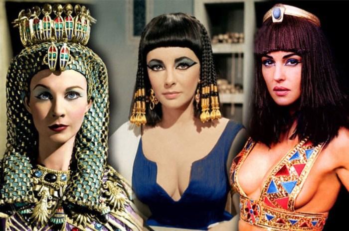 В кинематографе роль Клеопатры всегда доставалась самым эффектным и красивым актрисам своего времени