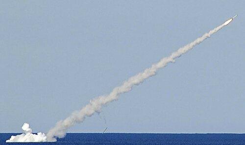 Россия и Запад: Россия нанесла из Средиземного моря удары крылатыми ракетами «Калибр» в окрестностях сирийского города Ракка, столицы запрещенного в России «Исламского государства»