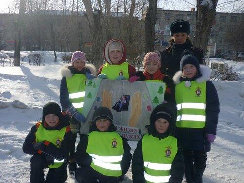 Акция Пешеход в Куйбышеве